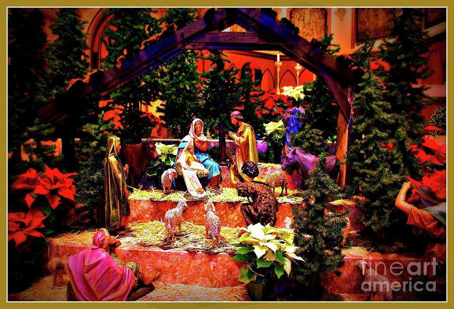 Color Vibe Nativity - Border Photograph