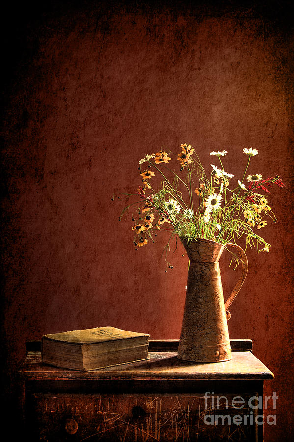 Still Life Photograph - Color Wild Garden by Sari Sauls