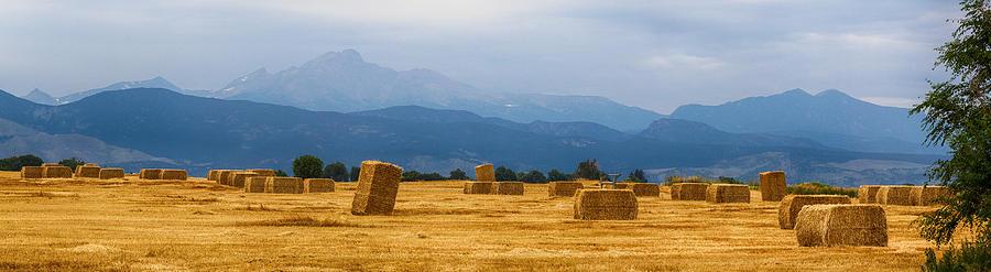 Colorado Agriculture Farming Panorama View Photograph
