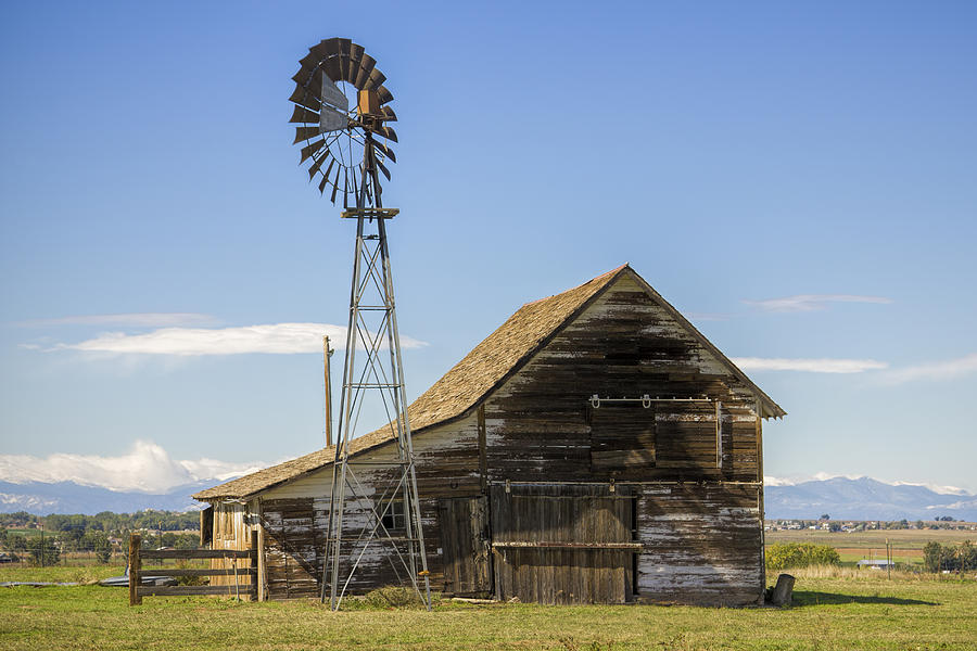 Colorado Photograph - Colorado Barn by Dave Crowl