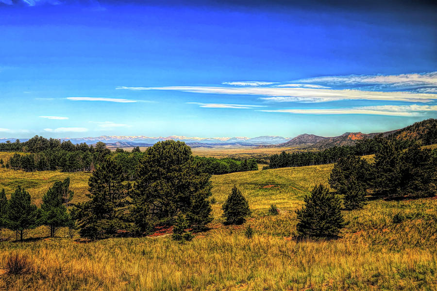 Colorado Country 2 Oil Painting Photograph