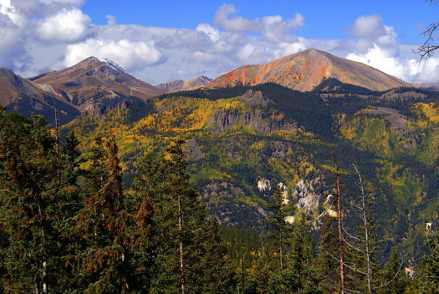 Mountain Photograph - Colorado Fall by Marty Koch
