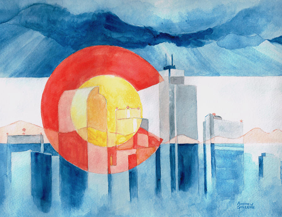 Colorado Flag by Andrew Gillette