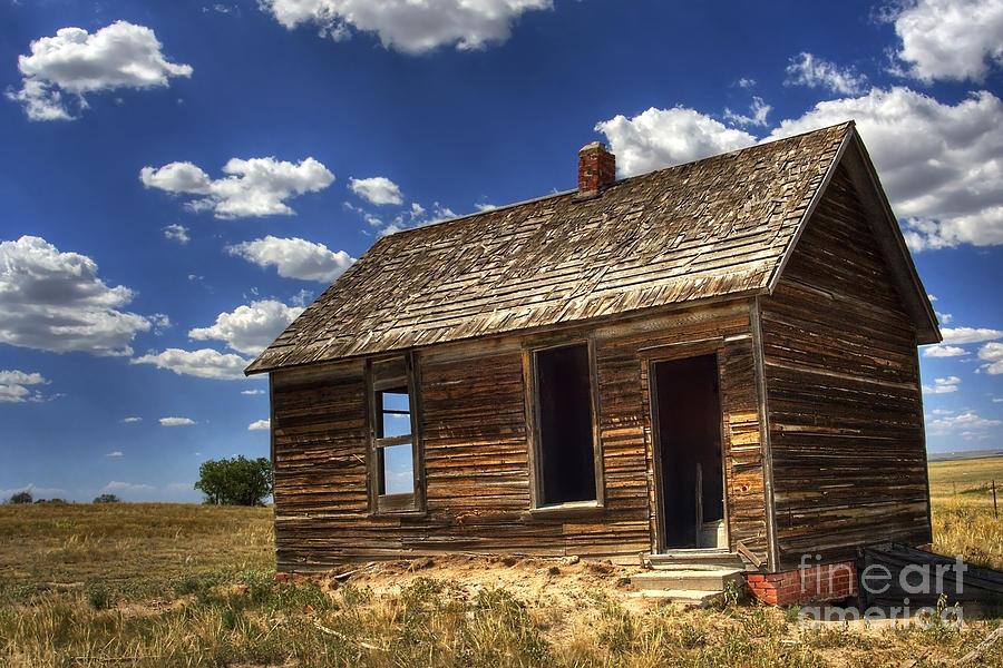Landscape Photograph - Colorado Homestead by Pete Hellmann