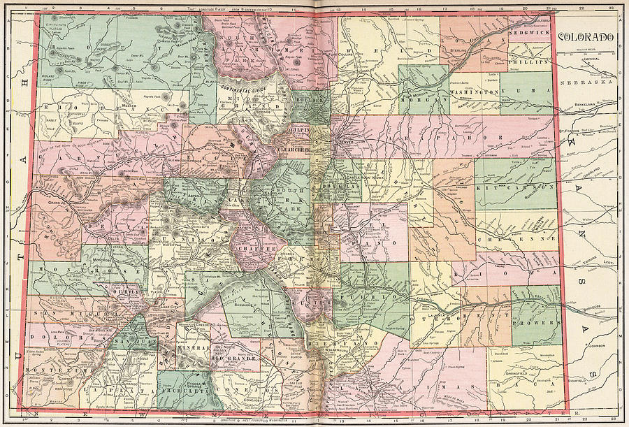 Colorado Map Of Cities