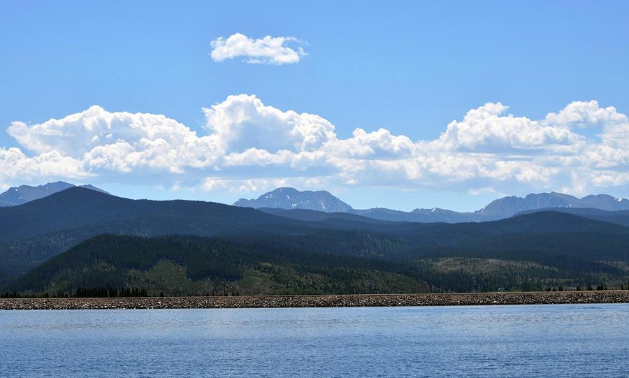 Colorado Photograph - Colorado Mountain Lake by Linda Benoit