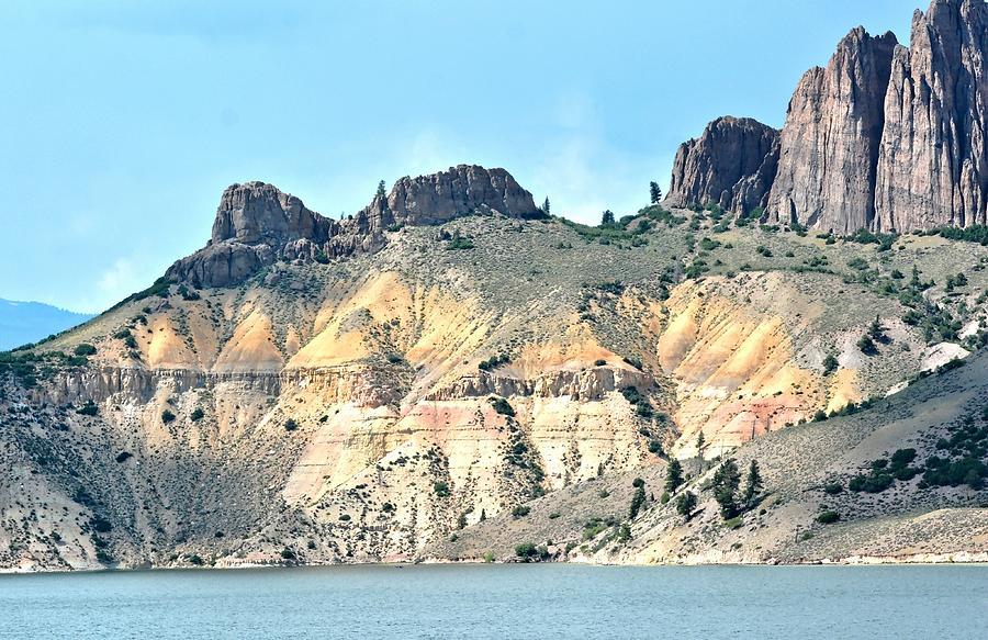 Colorado Mountain Scene Photograph