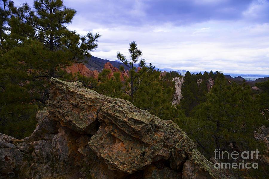 Colorado Photograph - Colorado Red Rocks by Barbara Schultheis