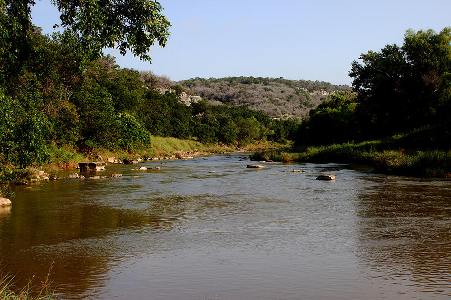 River Photograph - Colorado River Bend Texas by James Smullins