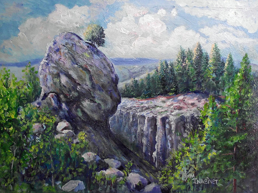 Colorado Roots Painting by Kym Inabinet