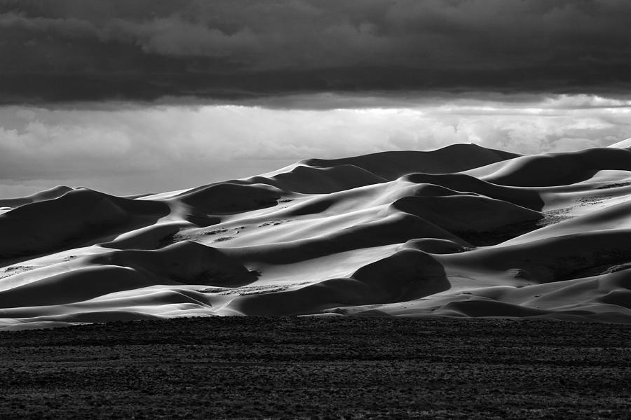 Beauty Photograph - Colorado Sand Dunes by Mark Courage
