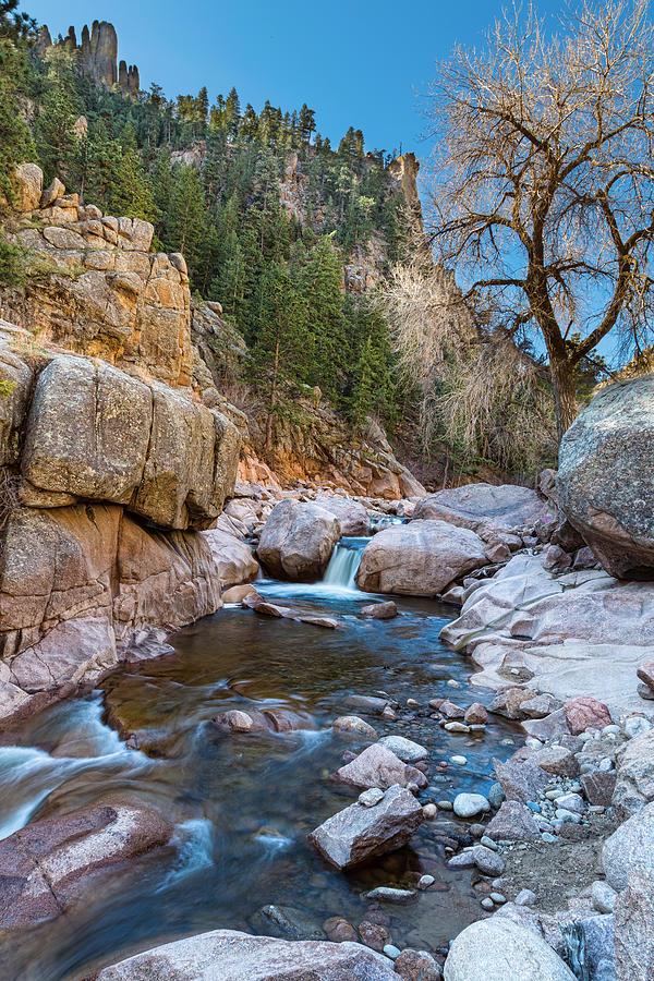 Colorado South St Vrain Canyon Photograph