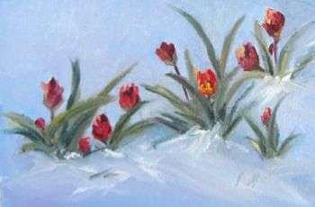 Oil Painting - Colorado Spring by Marcy Silverstein