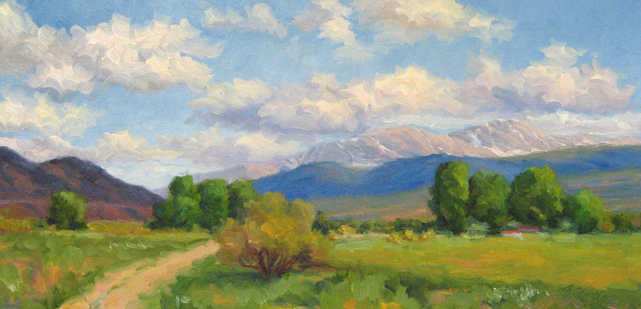 Colorado Painting - Colorado Summer by Bunny Oliver