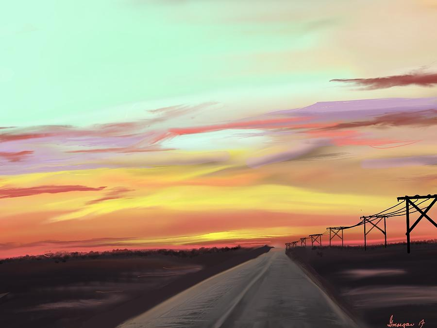 Colorado Sunrise by Gerry Morgan