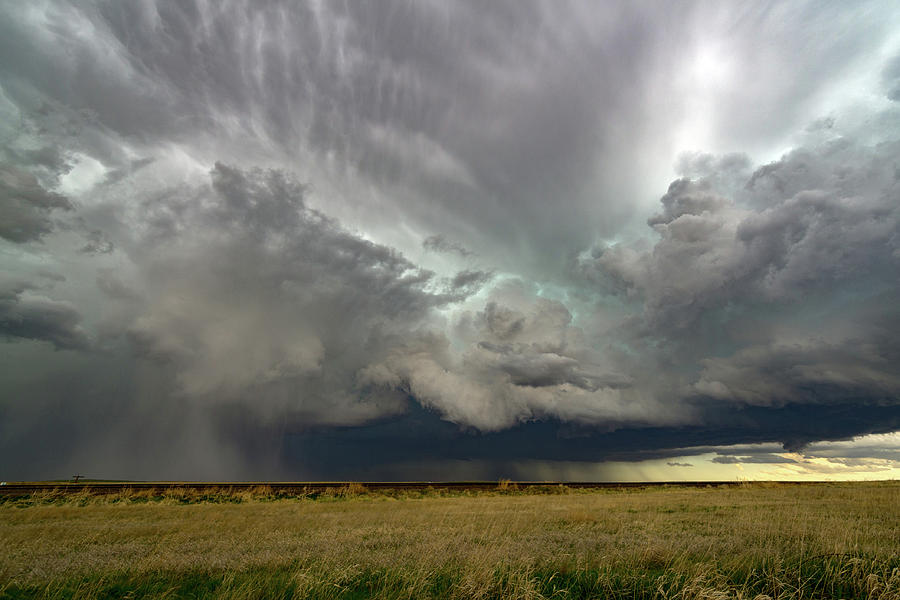 Landscape Photograph - Colorado Supercell by James Hammett