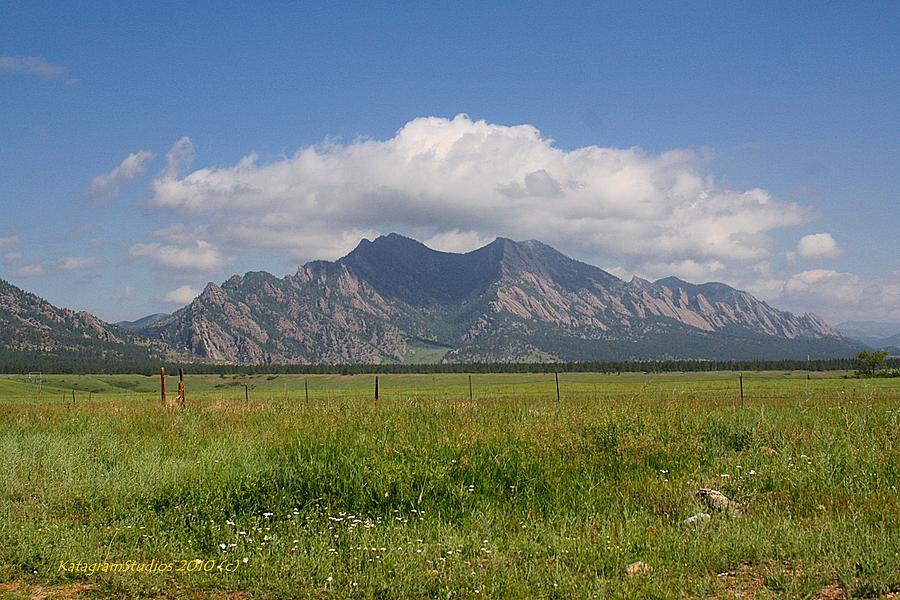 Mountains Photograph - Colorado Wonder by KatagramStudios Photography