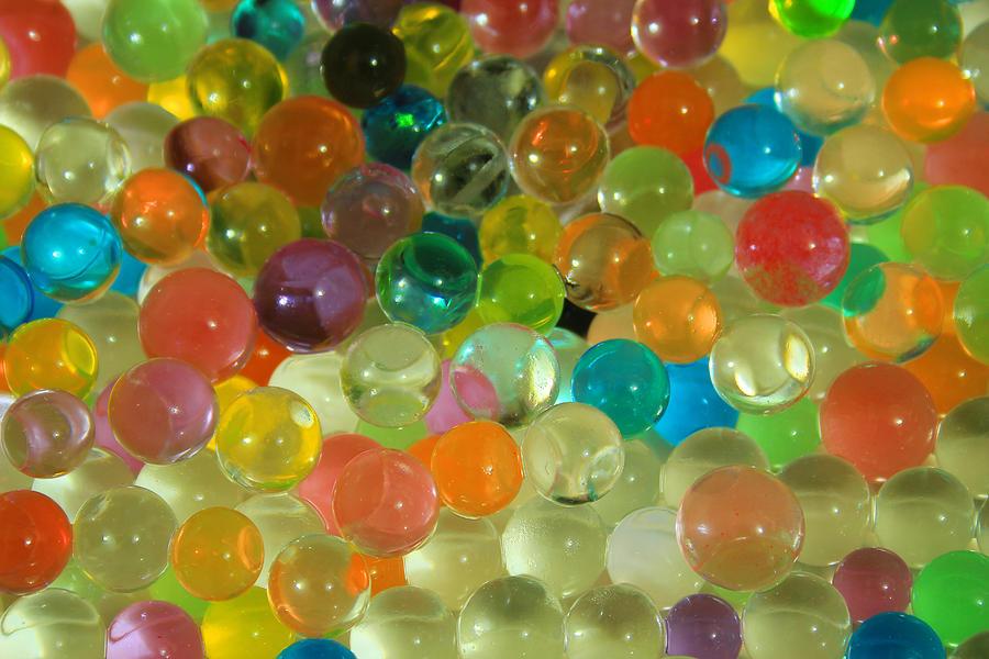 Ball Photograph - Colored Balls by Robert Hamm