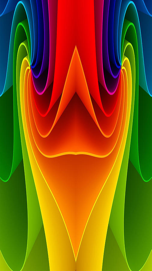 Colors Digital Art - Colorful 3a by Bruce Iorio