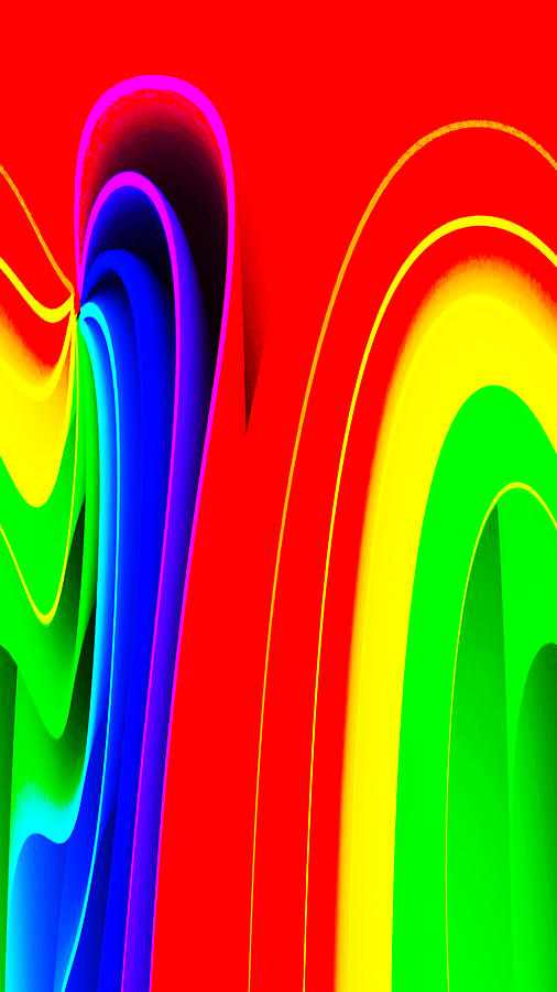Colors Digital Art - Colorful by Bruce Iorio