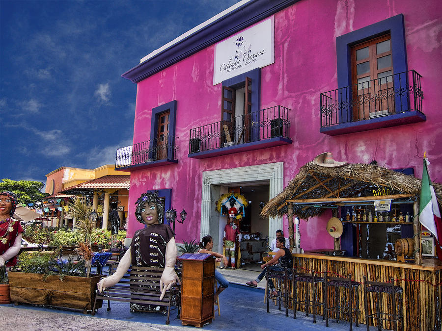 Colorful Photograph - Colorful Cancun by Douglas Barnard