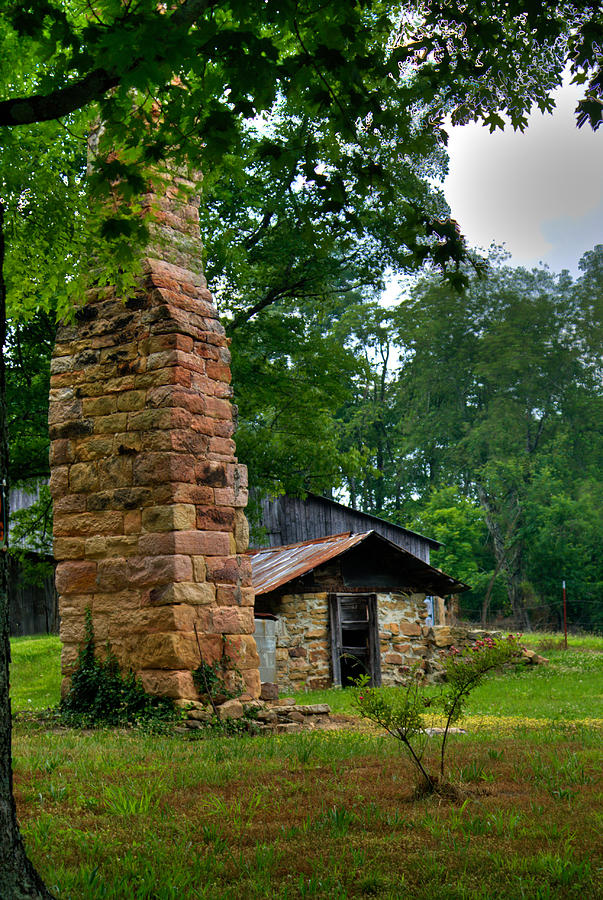 Chimney Photograph - Colorful Chimney by Douglas Barnett