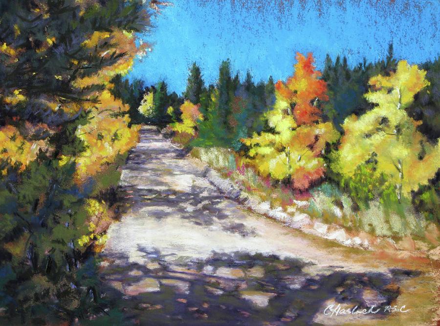 Landscape Pastel - Colorful Colorado by Carole Haslock