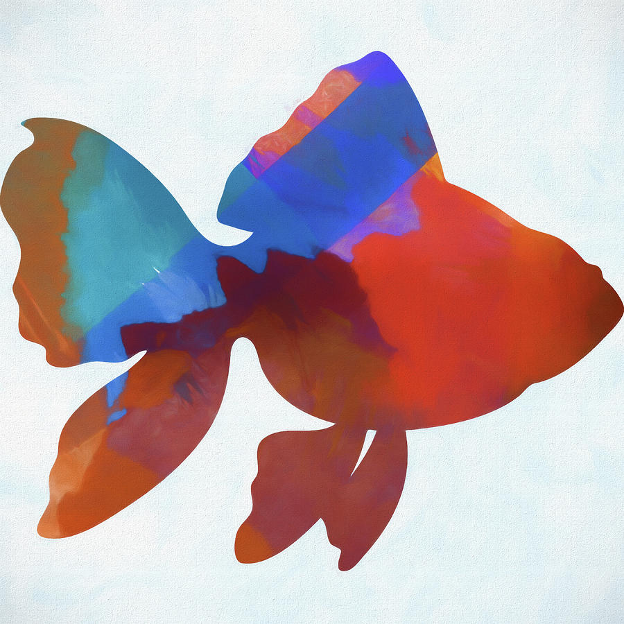 Colorful Fish Mixed Media by Dan Sproul