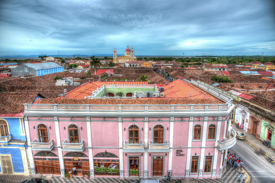 Nicaragua Photograph - Colorful Granada by Michael Santos