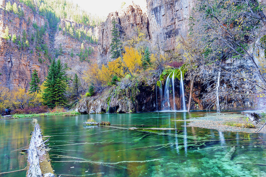 Colorful Hanging Lake Photograph