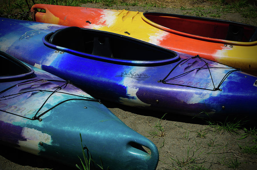 Colorful Kayaks by Tikvah's Hope