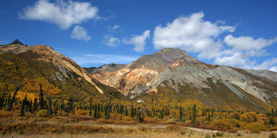 Mountains Photograph - Colorful Mountains by Dave Clark