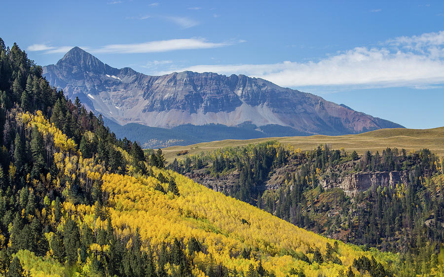 Colorful Mountains Near Telluride by James Woody