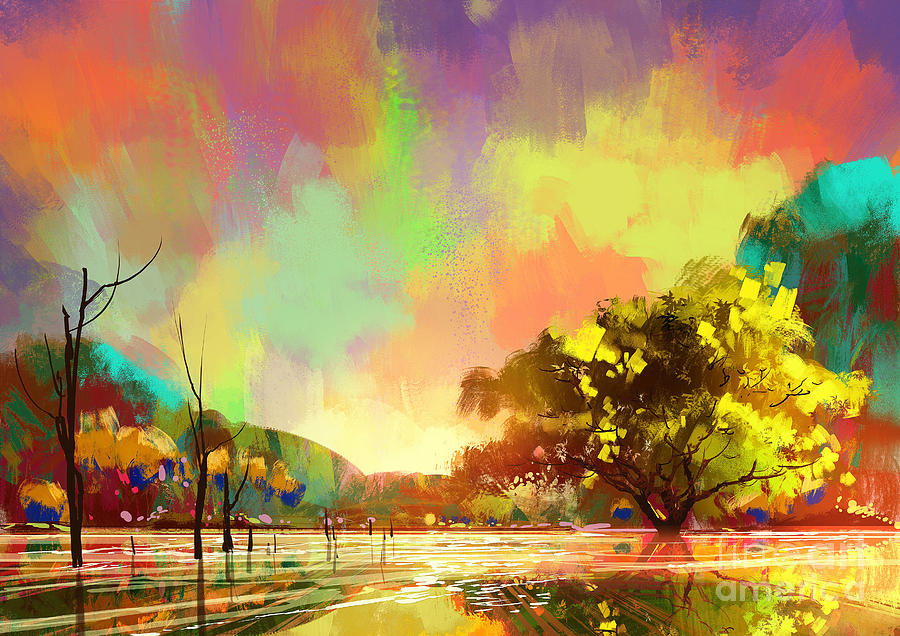 Colorful Natural Painting
