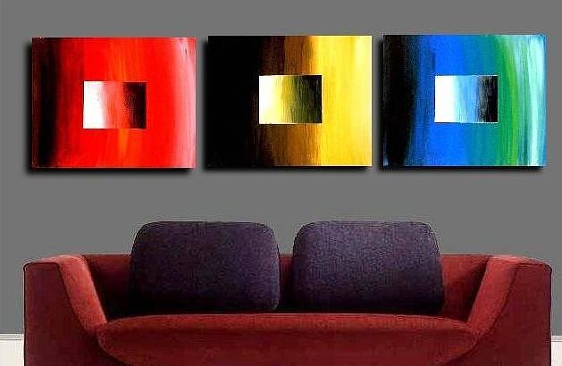 Colorful Painting - Colorful Squares by Teo Alfonso