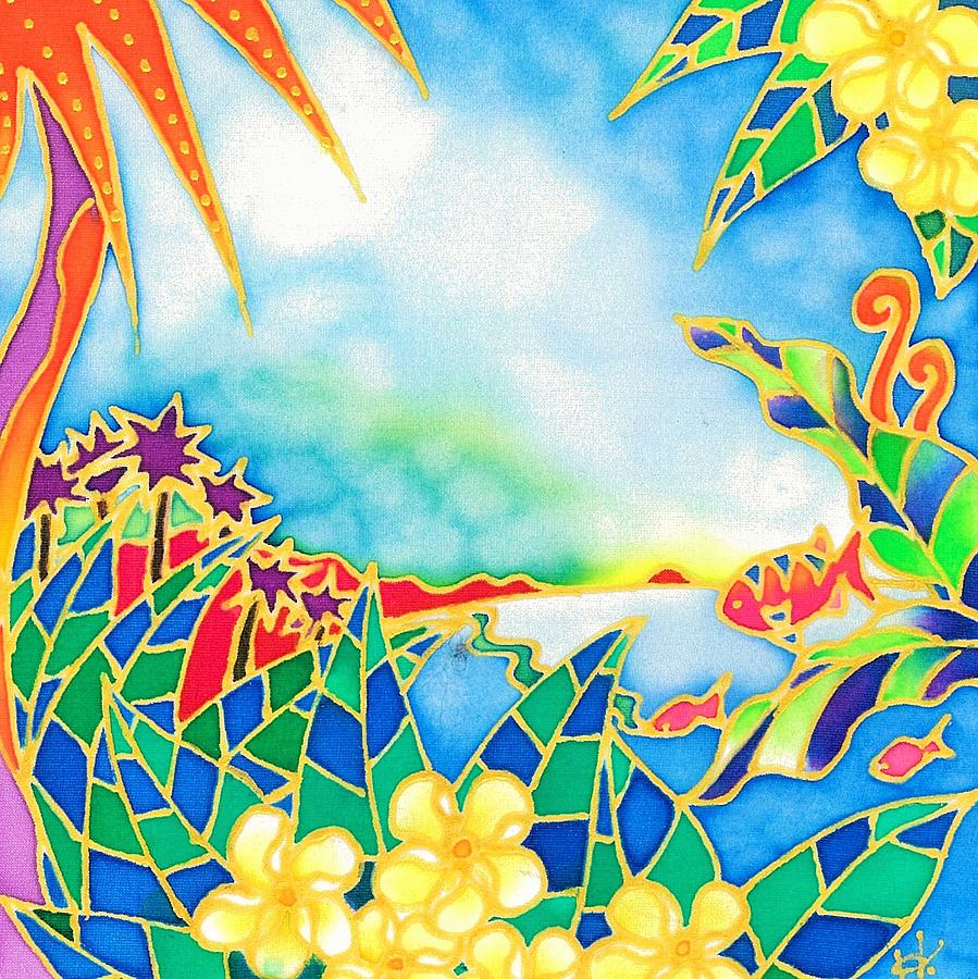 Colorful tropics 1 by Hisayo Ohta