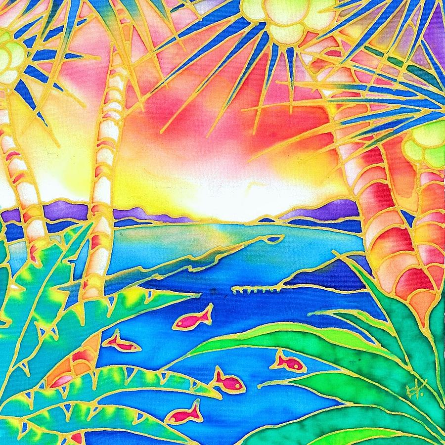 Colorful tropics 12 by Hisayo Ohta