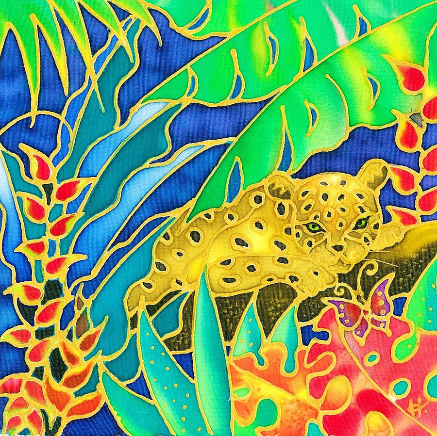 Tropics Painting - Colorful Tropics 4 by Hisayo Ohta