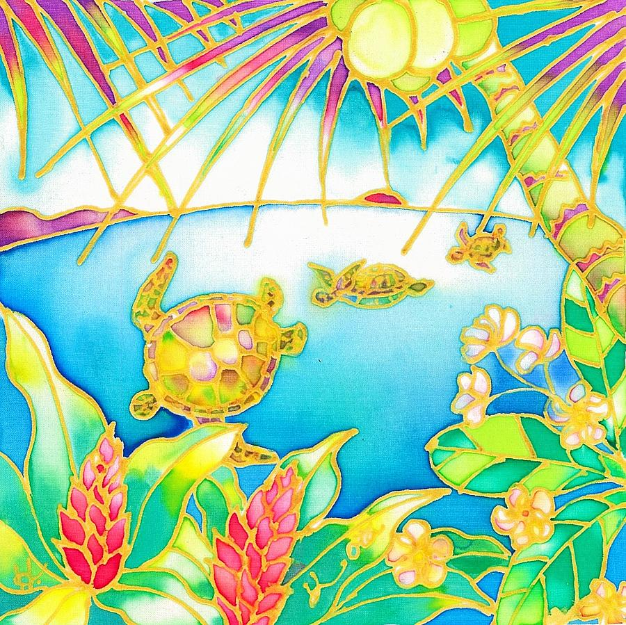 Colorful tropics 7 by Hisayo Ohta