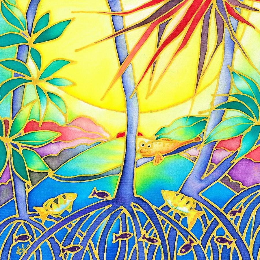 Colorful tropics 8 by Hisayo Ohta