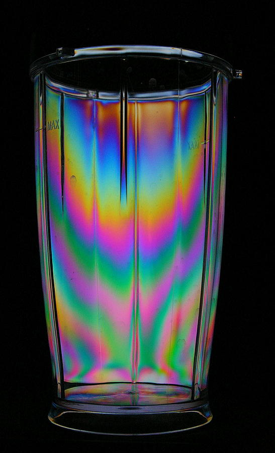 Plastic Photograph - Colorful Tumbler by Donald Tusa