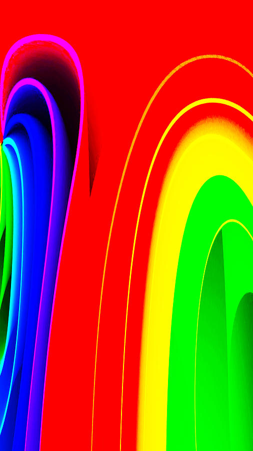 Colors Digital Art - Colorful1 by Bruce Iorio