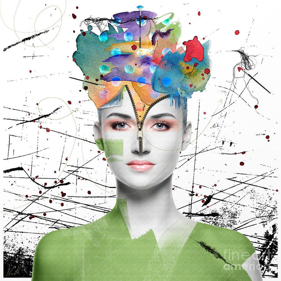 Color Digital Art - Colorist by Nola Lee Kelsey
