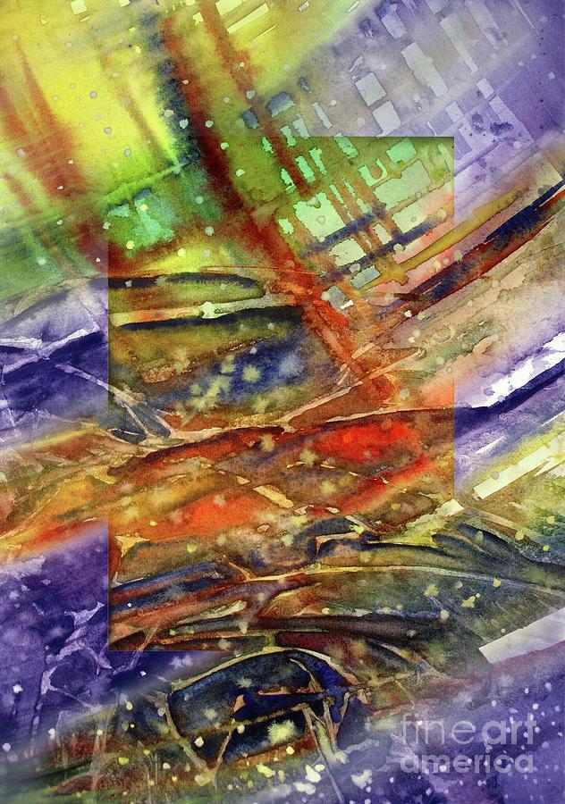 Colors Interrupting Painting
