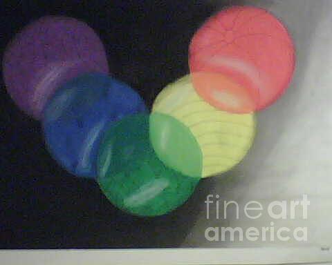 Shapes Pastel - Colors by Michael Jenkins