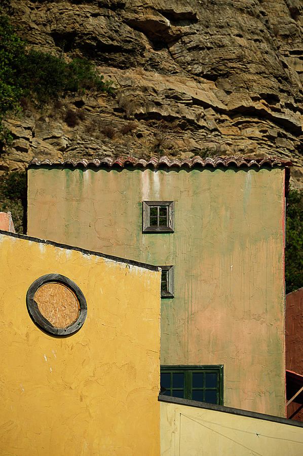 COLORS OF LIGURIA HOUSES - FACCIATE CASE COLORI di LIGURIA 2 by Enrico Pelos