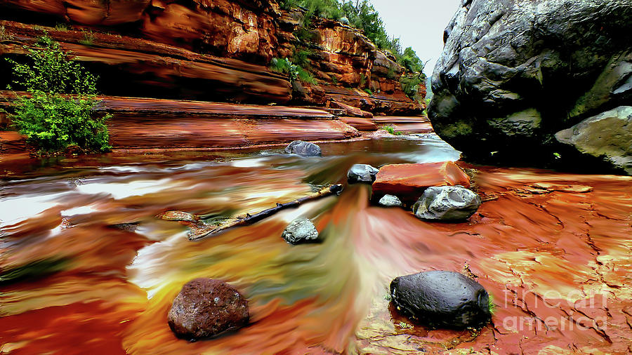 Colors of Sedona by Chandra Nyleen