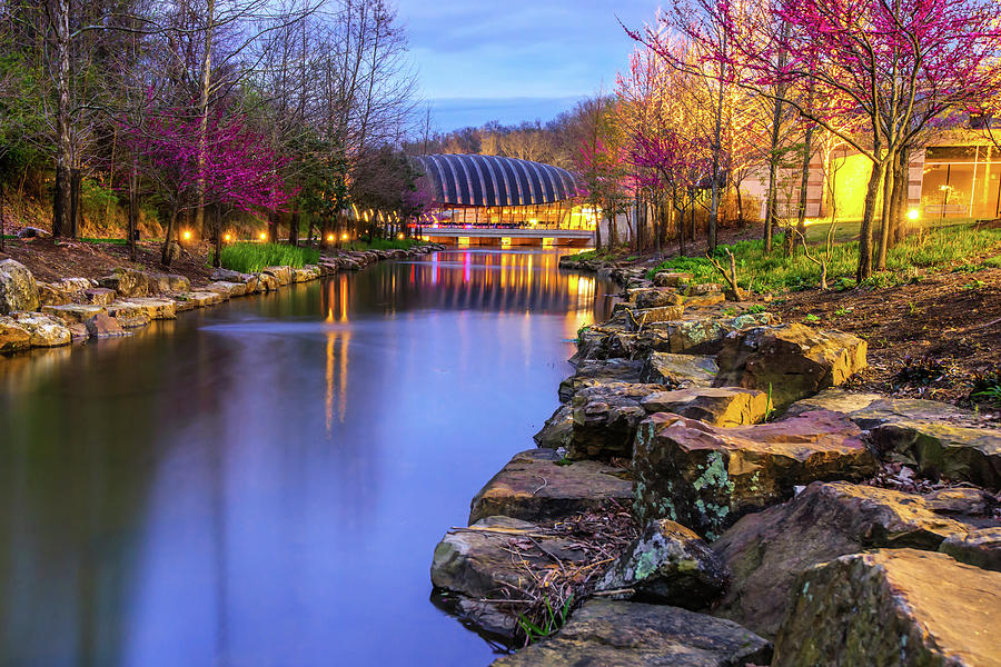 America Photograph - Colors Of Spring At Crystal Bridges Museum Of Art - Arkansas by Gregory Ballos