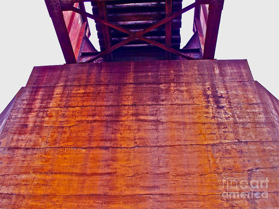 Trestle Photograph - Colors Of Time by Chuck Taylor
