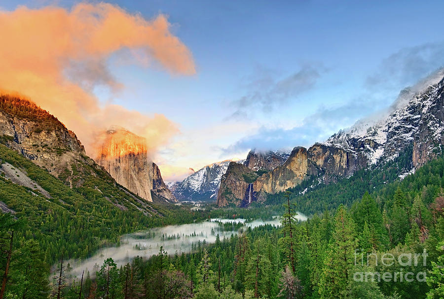 Yosemite Photograph - Colors Of Yosemite by Jamie Pham